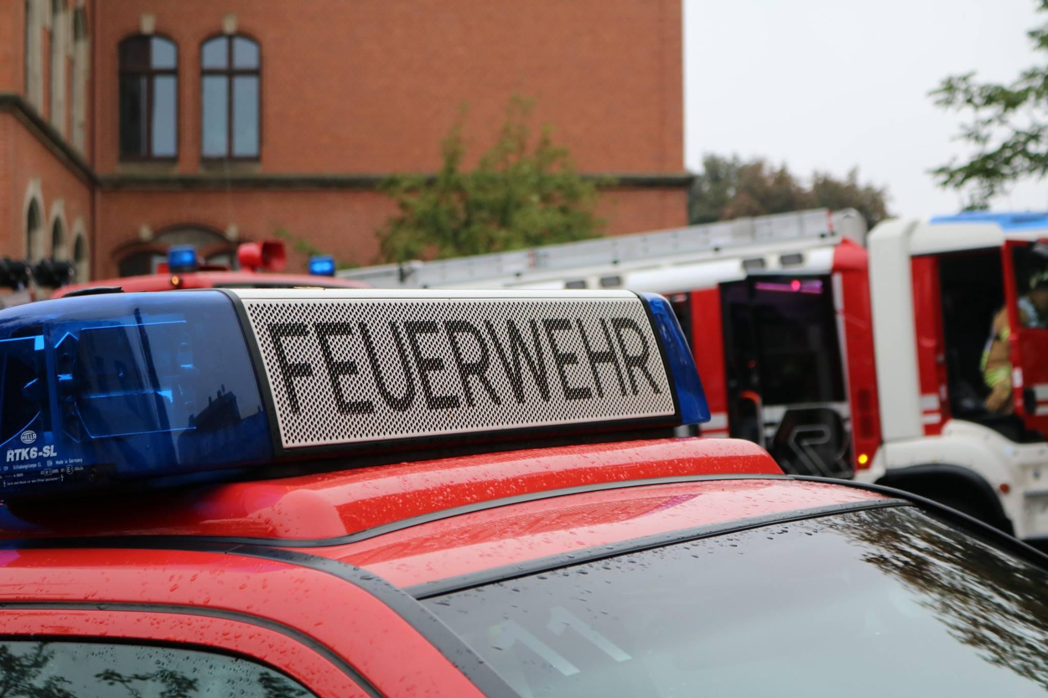 Wohnungsbrand in Zeulenroda