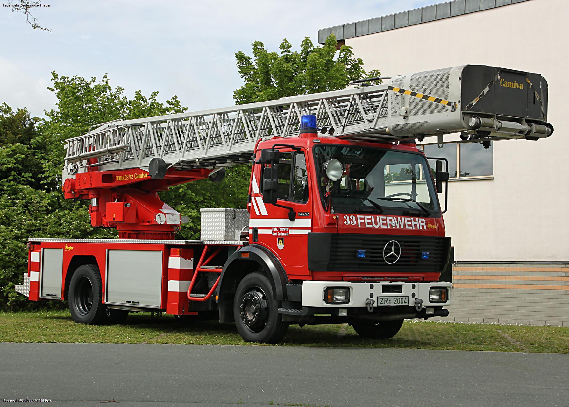 Neue Drehleiter für die Freiwillige Feuerwehr Zeulenroda-Triebes