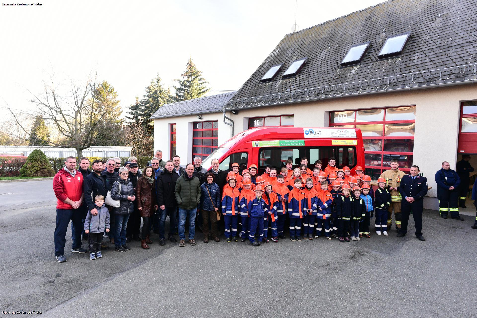 Feuerwehr Zeulenroda-Triebes steckt viel Energie in die Jugendarbeit