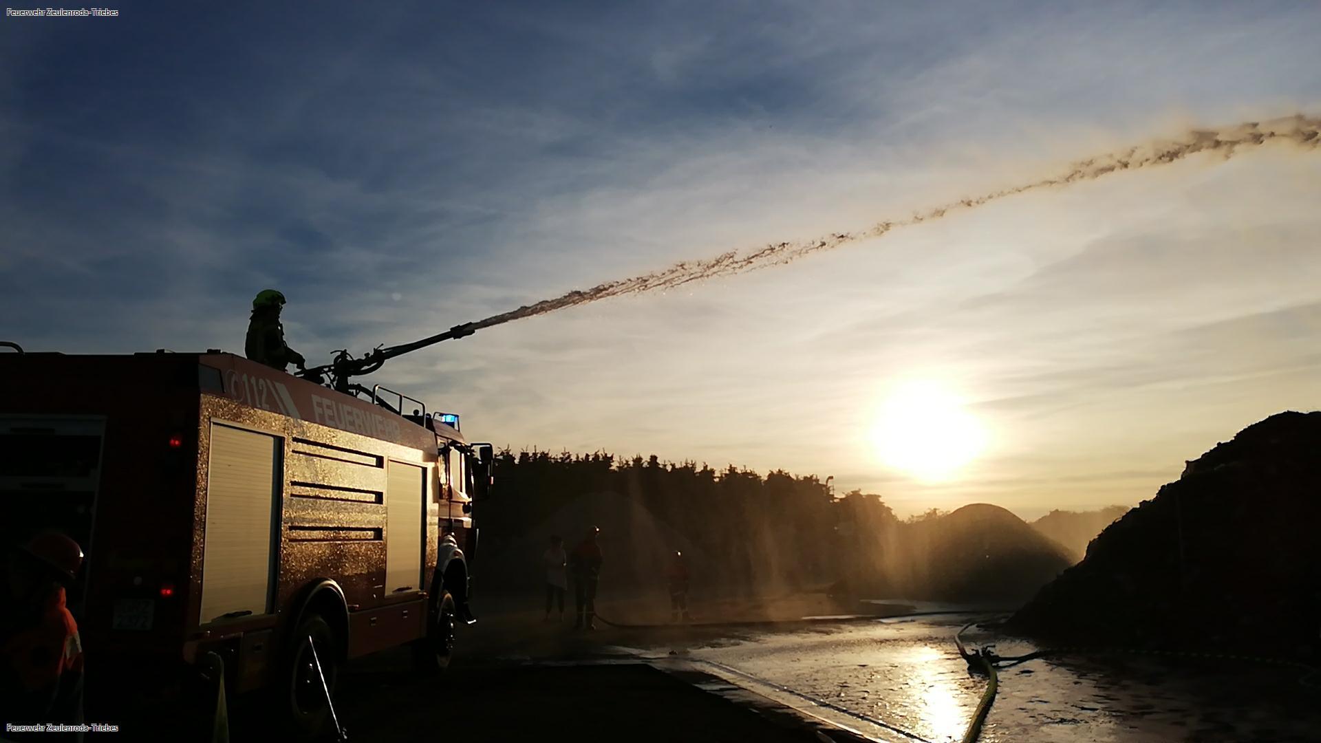 Proben wie die Großen — Jugend der Zeulenrodaer Feuerwehr war 24 Stunden in Bereitschaft