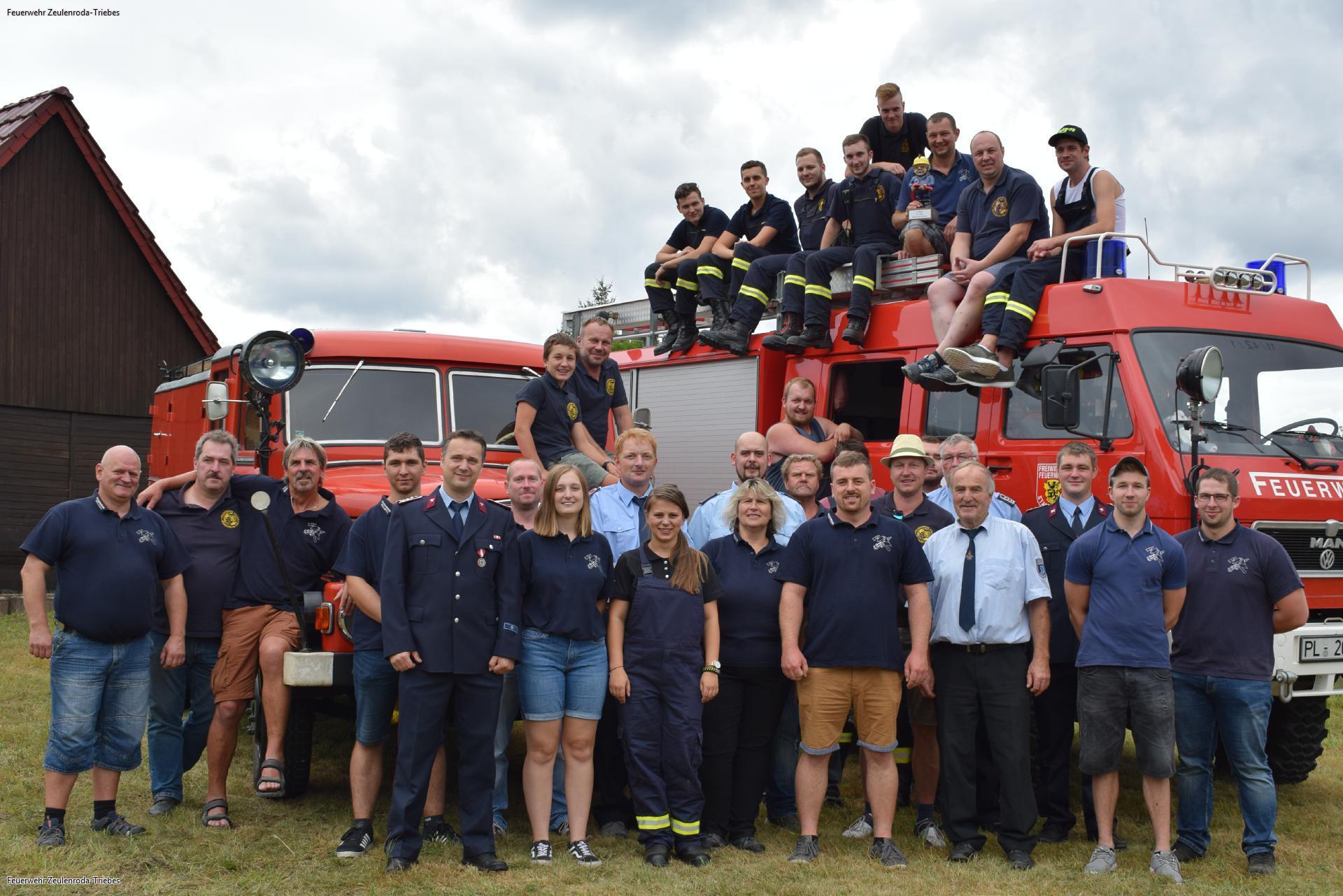 111 Jahre Freiwillige Feuerwehr Pöllwitz