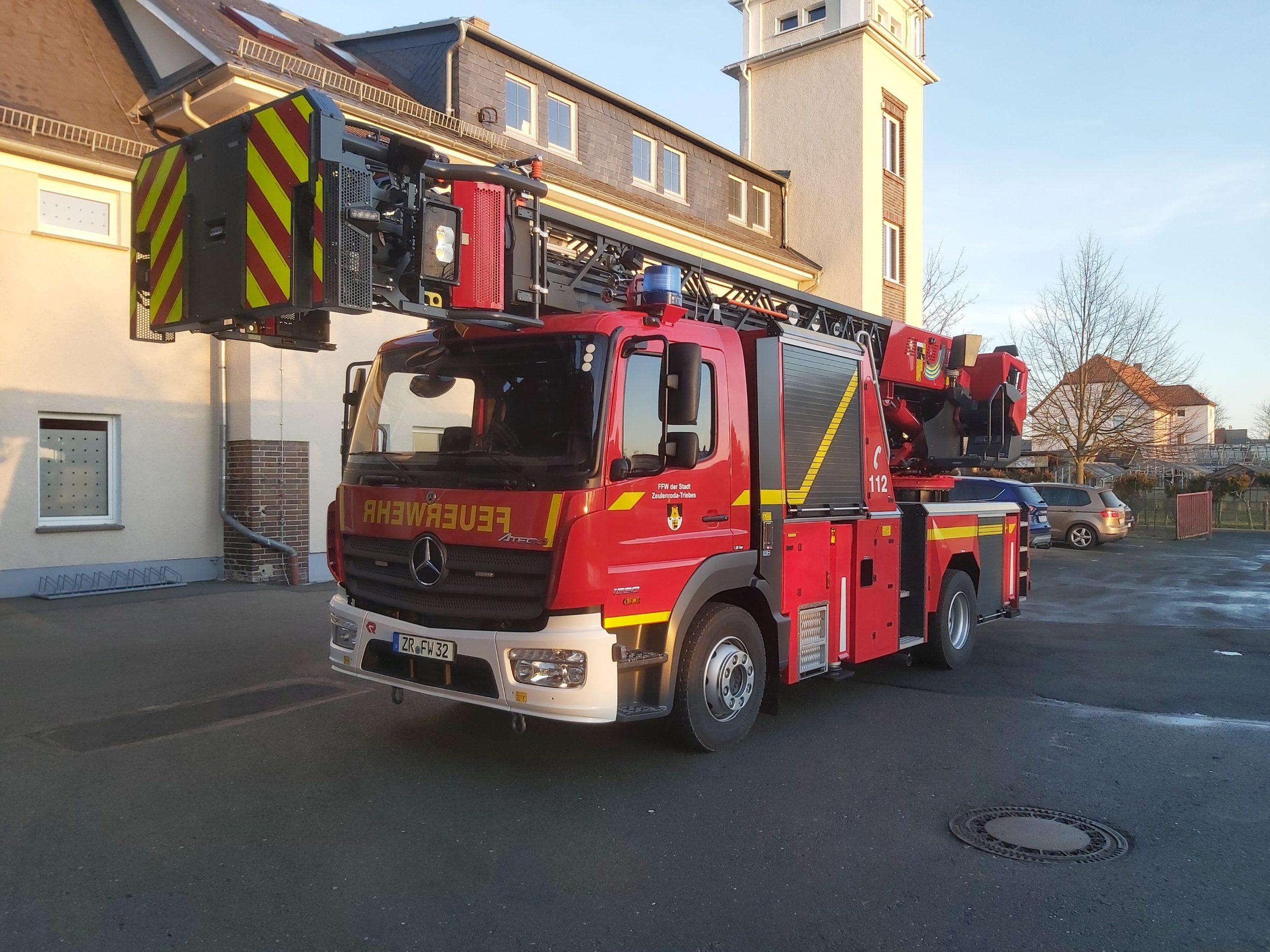 50 Jahre altes Feuerwehrfahrzeug geht in den Ruhestand