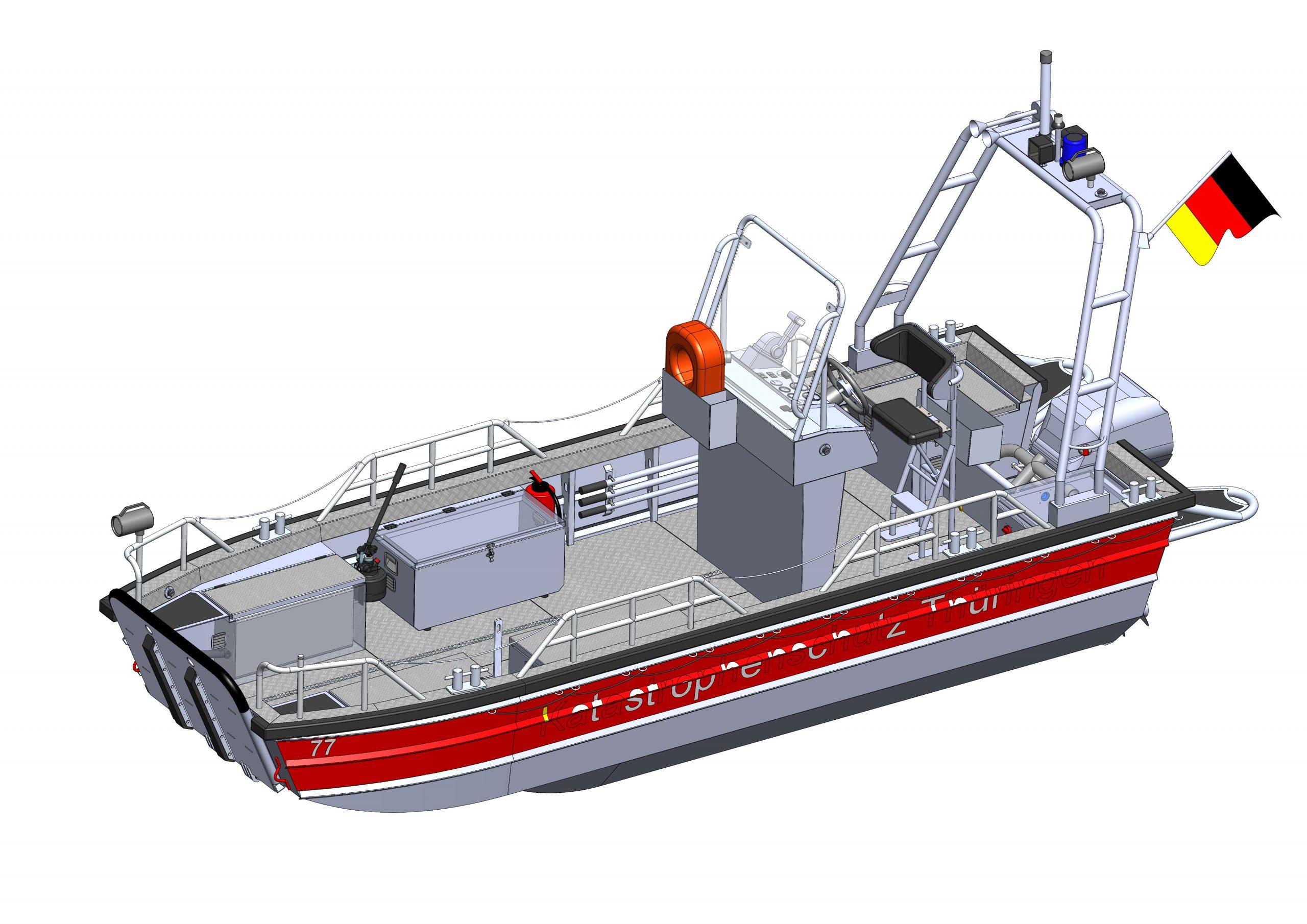 Stützpunktfeuerwehr bekommt Rettungsboot