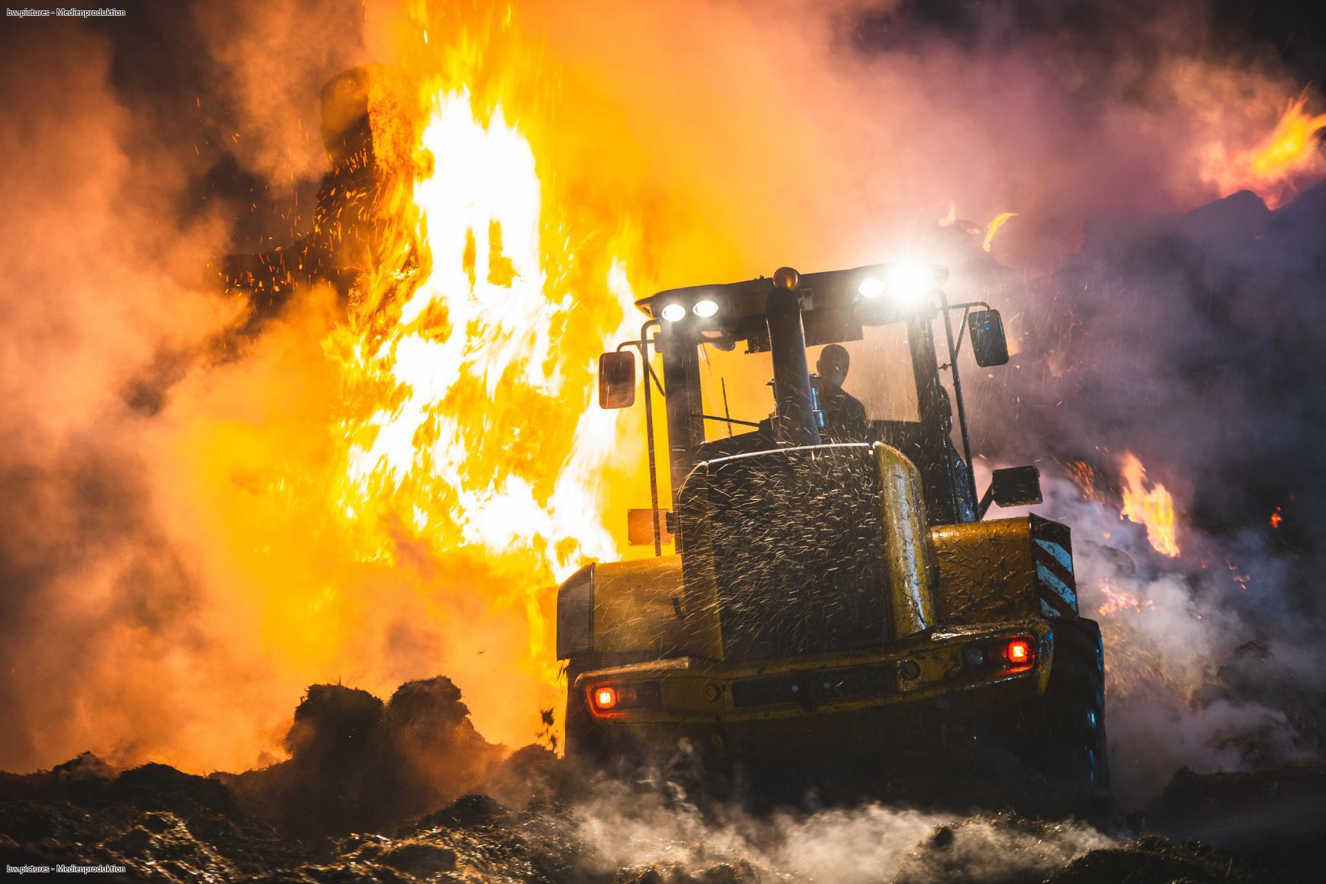 War der Brand in Piesigitz ein Anschlag?