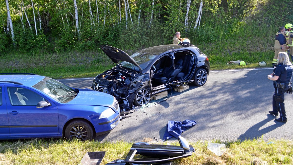 Schwerverletzte bei Unfall zwischen Dörtendorf und Triebes