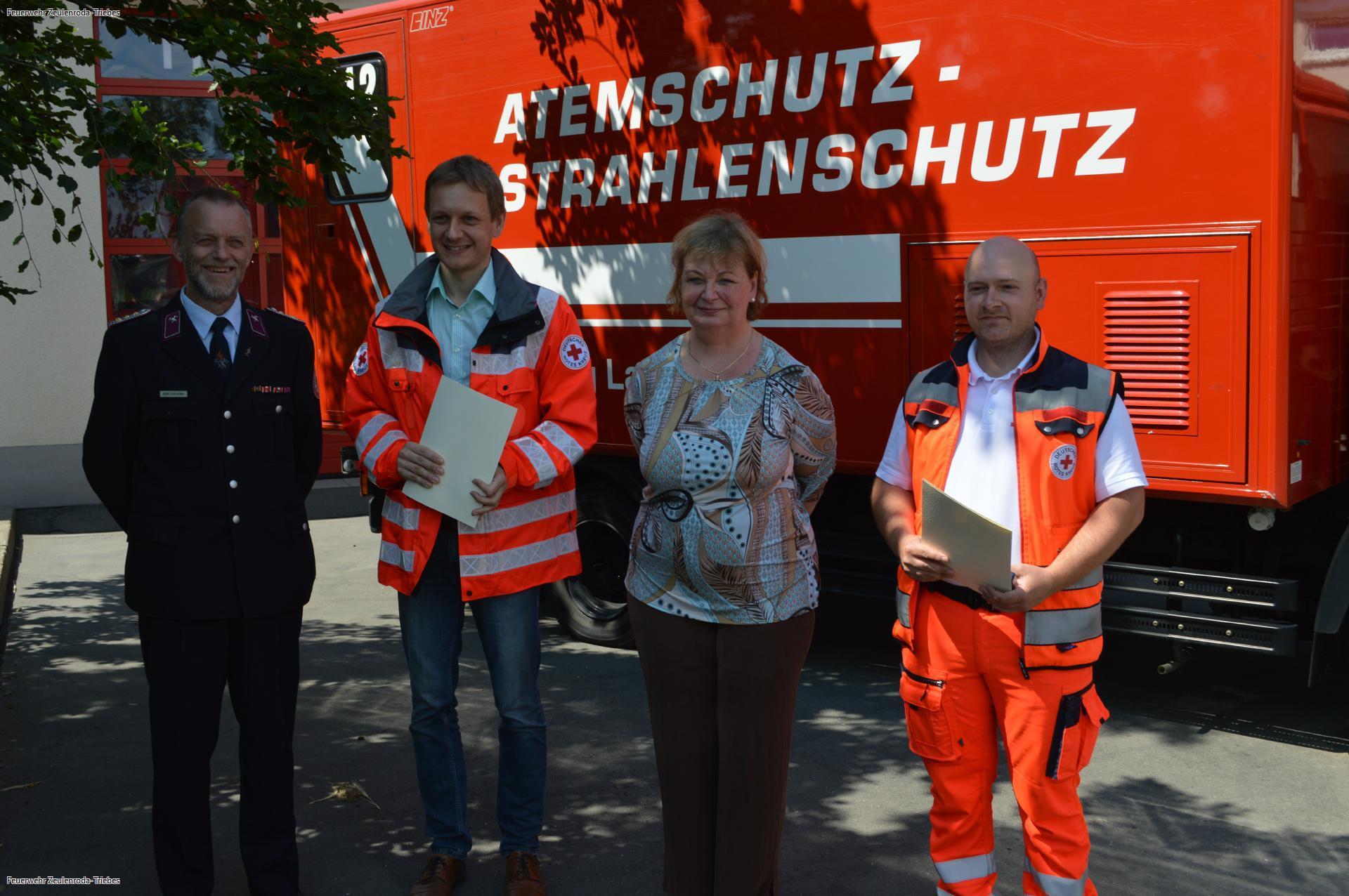 Dreimal Bronze für Ehrenamtsarbeit im LandkreisGreiz
